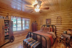 Log Home By Golden Eagle Log and Timber Homes - golden eagle log logs cabin home homes house houses rustic knotty pine custom design designs designer floor plan plans kit kits building luxury built builder complete package packages wood sealing log walls peeled bedroom antique country living