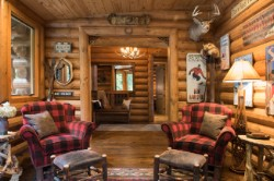 Log Home By Golden Eagle Log and Timber Homes - golden eagle log logs cabin home homes house houses rustic knotty pine custom design designs designer floor plan plans kit kits building luxury built builder complete package packages completely decorated ideas built four season three seasons big trim rustic large design round wooden floor