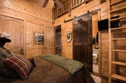 Log Home By Golden Eagle Log and Timber Homes - golden eagle log logs cabin home homes house houses rustic knotty pine custom design designs designer floor plan plans kit kits building luxury built builder complete package packages bedroom loft ladder high ceiling custom pine tongue groove barn hardware sliding door