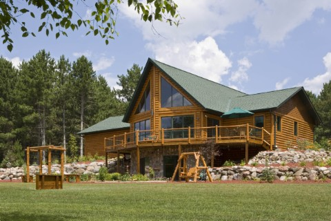 Custom Eagle Prow 4 Log Homes Photo Album