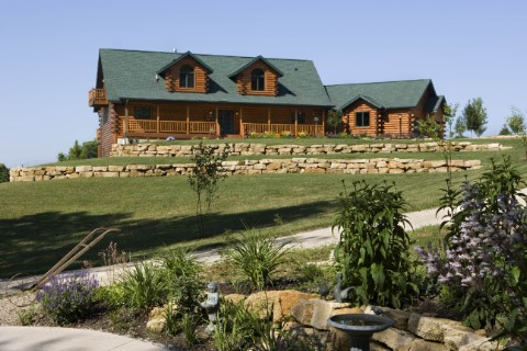 Custom Double Eagle Log Homes Photo Album