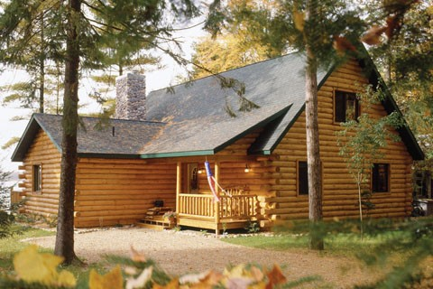 Custom Eagle Prow IV 1931AL Log Homes Photo Album