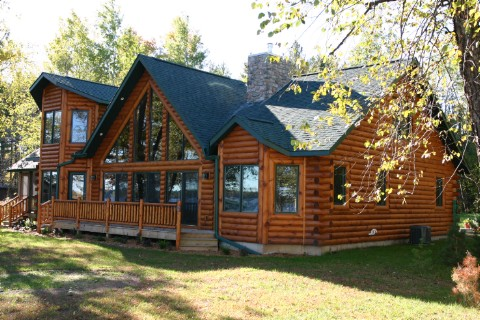 Custom Plan 6 Log Homes Photo Album