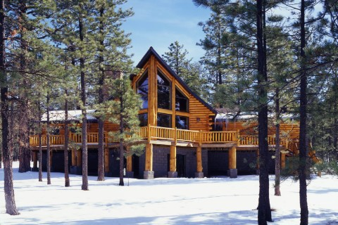 Custom Plan 7 Log Homes Photo Album