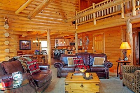 Custom Home in South Carolina Log Homes Photo Album