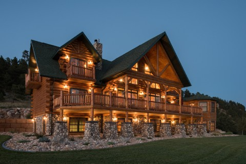 Custom Country's Best - Mountain Home Log Homes Photo Album