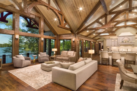 Timber Lake 2779AR-UCT Log Homes Photo Album