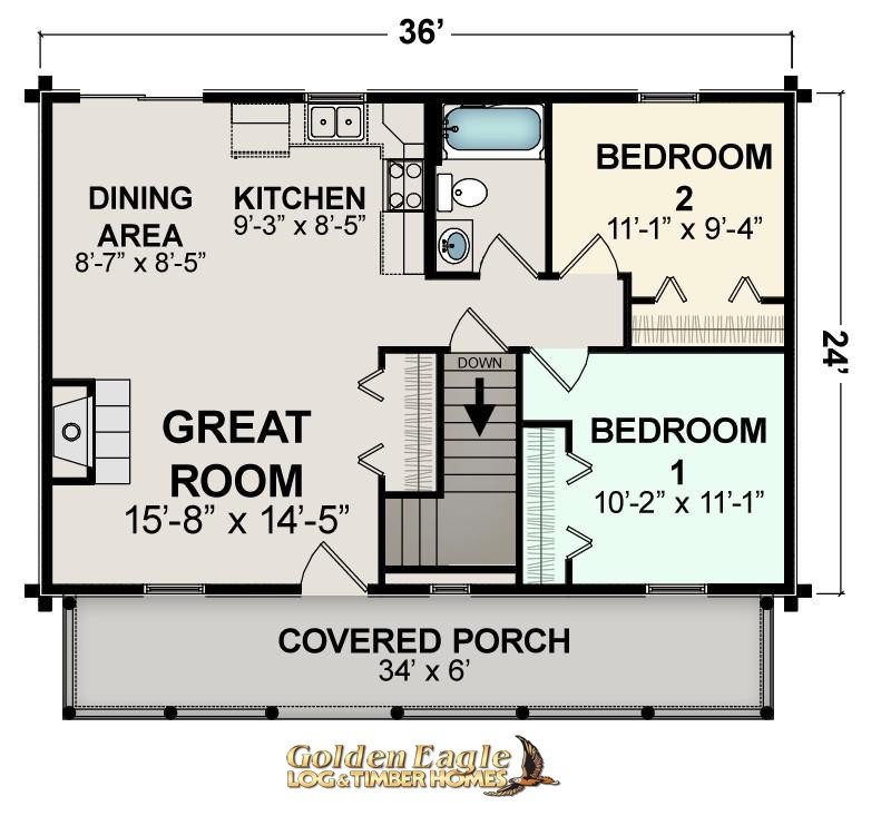 Golden Eagle Log And Timber Homes Plans Pricing Plan Details