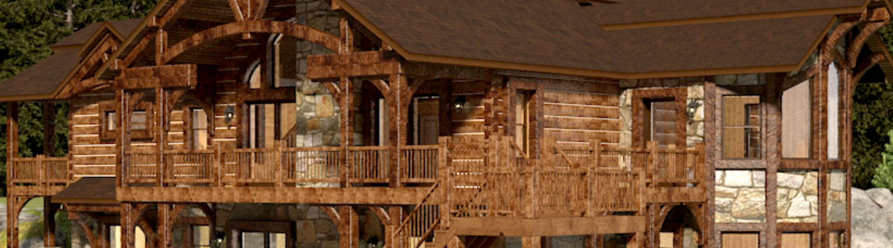 Dream Home 2532AR-UCT Ranch Ultra Custom Timber