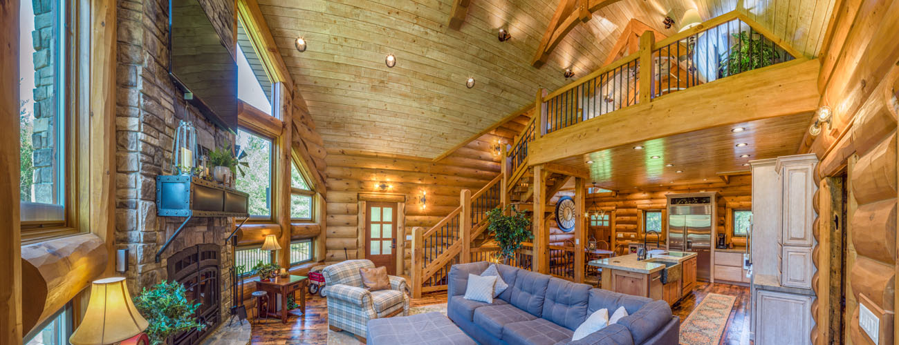 Log And Timber Home 2124AL