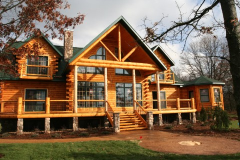 Country's Best  3361AL Showcase Log Homes Photo Album