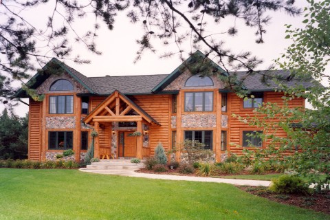 Custom Shenandoah Log Homes Photo Album