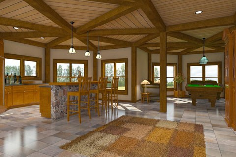 Hybrid Timber Frame Ideas Log Homes Photo Album