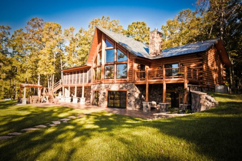 Lakehouse Ranch Log Homes Photo Album